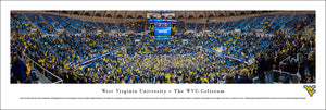 West Virginia Mountaineers The WVU Coliseum Panoramic Picture