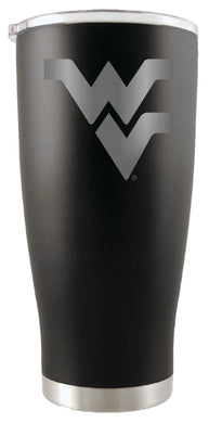 West Virginia Mountaineers 20oz. Stainless Steel Etched Tumbler