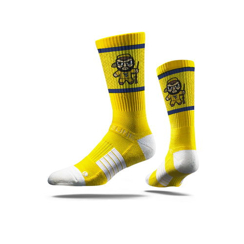 wvu football, wvu basketball, wvu tokyodachi socks