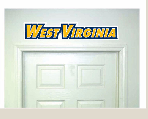 wvu football, wvu basketball, wvu wall graphics