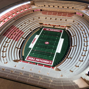 alabama crimson tide stadiumview led table