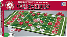 NCAA fan gear Alabama Crimson Tide checkers set from Sports Fanz