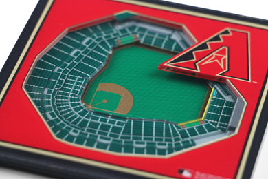 Arizona Diamondbacks 3D StadiumViews Coaster Set