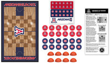 Arizona Wildcats Basketball Checkers
