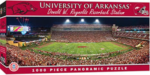Arkansas Razorbacks Panoramic Puzzle