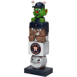 houston astros tiki totem, orbit tiki totem