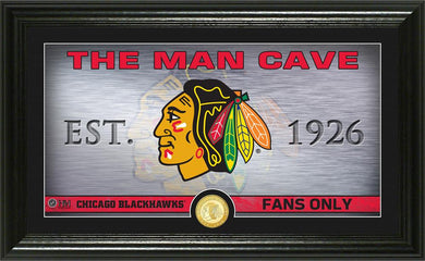 Chicago Blackhawks Man Cave
