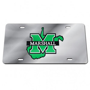 Marshall Thundering Herd Classic Mirror License Plate