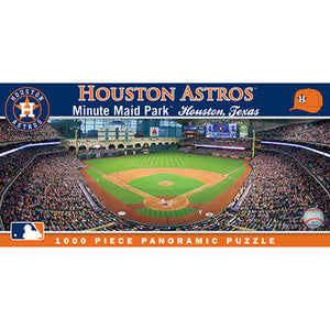 Houston Astros Panoramic Puzzle
