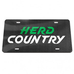 marshall thundering herd license plate, herd country