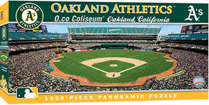 Oakland Athletics Panoramic Puzzle