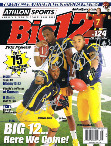 wvu football, geno smith, tavon austin, stedman bailey