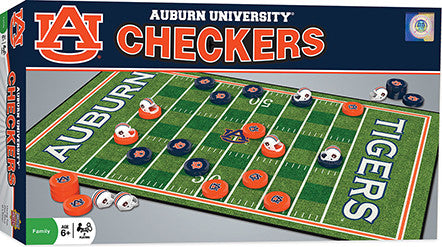 auburn tigers checkers game