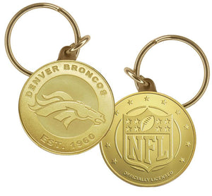 denver broncos key chain