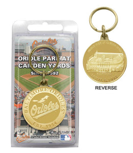 baltimore orioles keychain