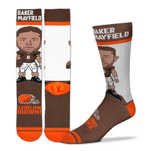 Baker Mayfield Cleveland Browns Socks