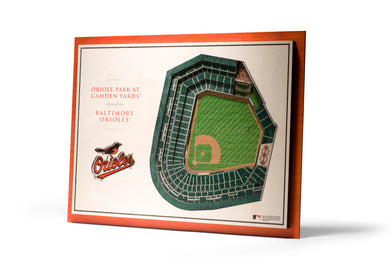 baltimore orioles camden yards 3d stadiumview wall art