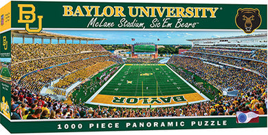 Baylor Bears Football Panoramic Puzzle