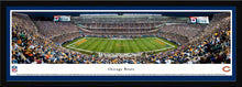 Chicago Bears Soldier Field Night Game Panoramic Picture