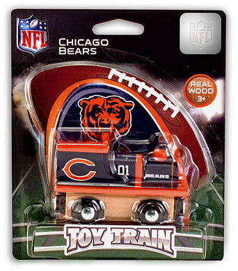 chicago bears toy train, chicago bears train