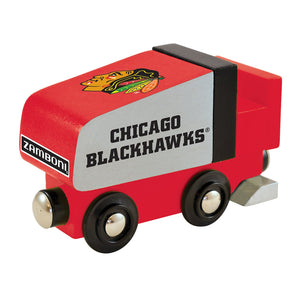 Chicago Blackhawks Zamboni Toy Train