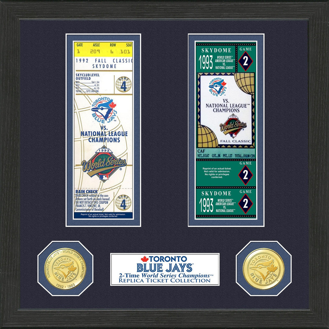 b0f2e067f Toronto Blue Jays World Series Ticket Collection – Sports Fanz