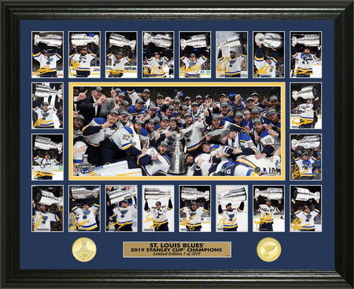 St Louis Blues 2019 Stanley Cup Champions Memorable Moment Bronze coin Photo Mint