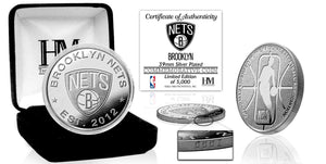 Brooklyn Nets Silver Mint Coin
