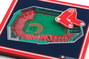 Boston Red Sox 3D StadiumViews Coaster Set