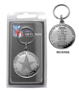 dallas cowboys keychain
