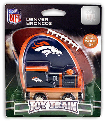 denver broncos train, denver broncos toy train