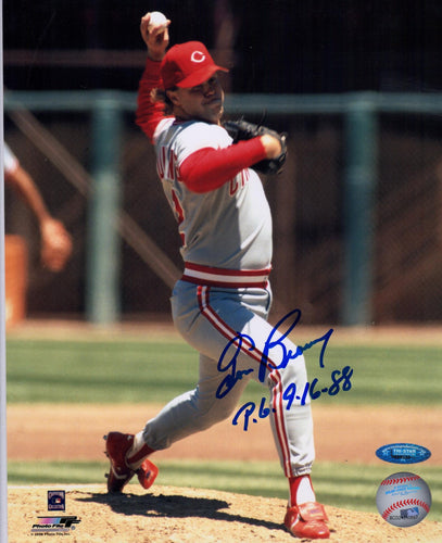 Tom Browning Cincinnati Reds Autographed 8x10 Photo