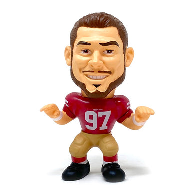 Nick Bosa San Francisco 49ers Big Shot Ballers Action Figure