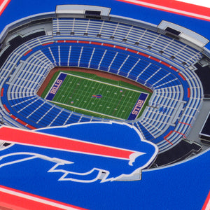 Buffalo Bills 3D StadiumViews Coaster Set