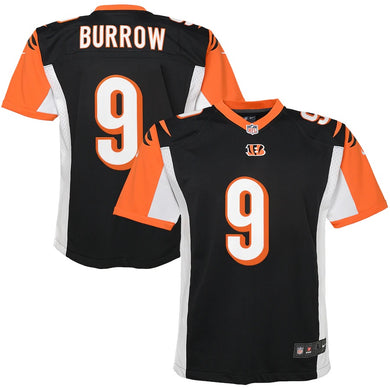 Joe Burrow Cincinnati Bengals #9 Nike Youth Jersey