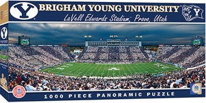 Brigham Young Cougars Football Panoramic Puzzle