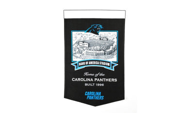 Carolina Panthers Bank of America Stadium Banner - 15