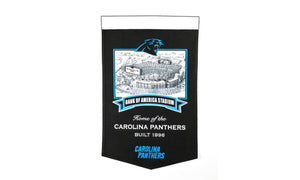 "Carolina Panthers Bank of America Stadium Banner - 15""x24"""