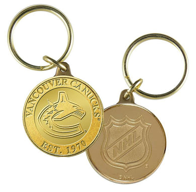 vancouver canucks  keychain