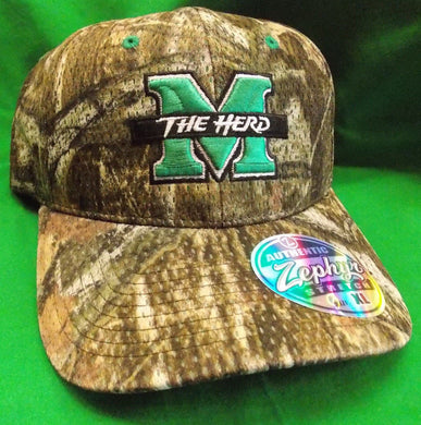 marshall football, marshall hat, thundering herd hat
