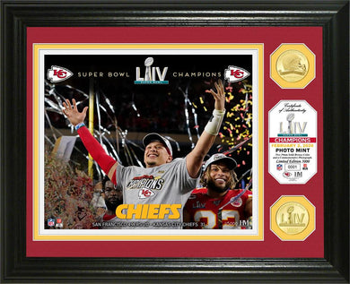 Kansas City Chiefs Super Bowl 54 Champions Celebration Bronze Coin Photo Mint
