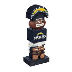 Los Angeles Chargers Tiki Totem, la chargers tiki totem