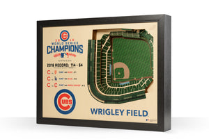 chicago cubs wrigley field world series champ