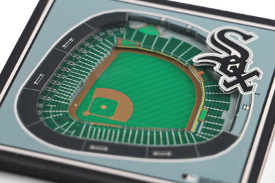 Chicago White Sox 3D StadiumViews Coaster Set