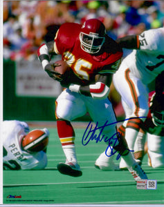 Christian Okoye Kansas City Chiefs Autographed