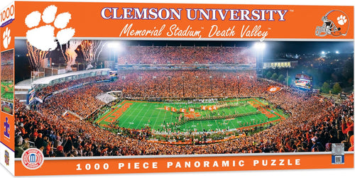 Clemson Tigers Football Panoramic Puzzle