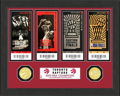 Toronto Raptors 2019 NBA Champions Ticket Collection
