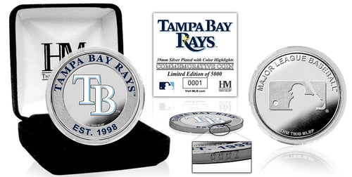 Tampa Bay Rays Silver Color Coin