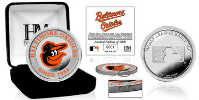 Baltimore Orioles  Silver Color Coin
