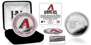 Arizona Diamondbacks Silver Color Coin
